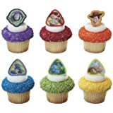 24 ct - Toy Story 3 Buzz Lightyear, Woody and Gang Cupcake Rings