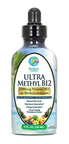 Ultra Methyl B12 Methylcobalamin Absorption