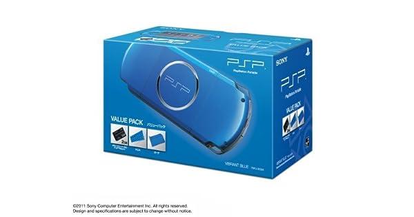 SONY PSP Playstation Portable Console JAPAN MODEL PSP-3000 Vibrant Blue Value Pack | PSPJ-30024 (Japan Import) by Playstation Portable: Amazon.es: Videojuegos