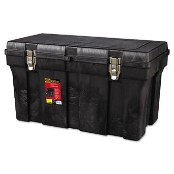 RCP7804BLA - Rubbermaid Tool Box, 36w X 18-1/2l X 20-1/8h, Polypropylene, Black