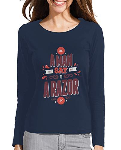 Latostadora S Camiseta Un Mujer Hombre Aos Azul Para Decir Marino rrSqRw