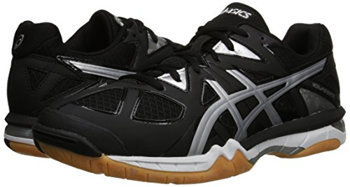 silver Gel onyx Shoe Black Asics tactic Men's Volleyball Rw404q