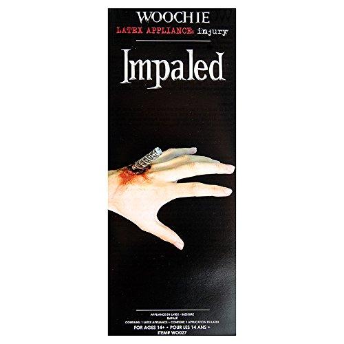 (Woochie by Cinema Secrets Impaled Latex Appliance, Multi, One)