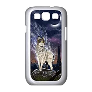 Case Of Gray Wolf Customized Hard Case For Samsung Galaxy S3 I9300