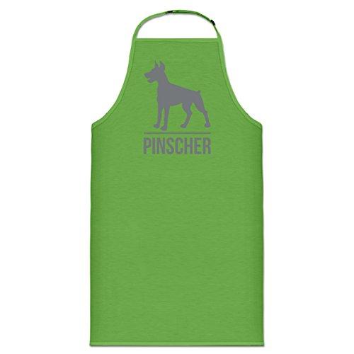 Shirtcity Pinscher Cooking Apron One Size Green (Sweatshirt Pinscher Adult Hoody)