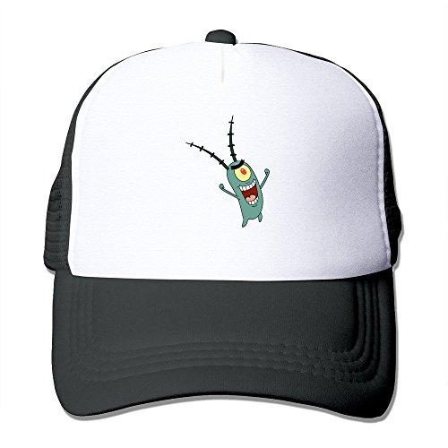 spongebob-squarepants-plankton-fashion-cool-mesh-cap-hats