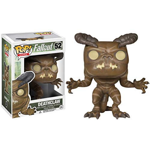 Deathclaw: Fallout x Funko POP! Games Vinyl Figure & 1 PET Plastic Graphical Protector Bundle [#052 / 05850 - B]