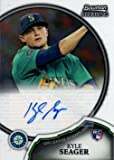 2011 Bowman Sterling #9 Kyle Seager Certified Autograph Baseball Rookie Card