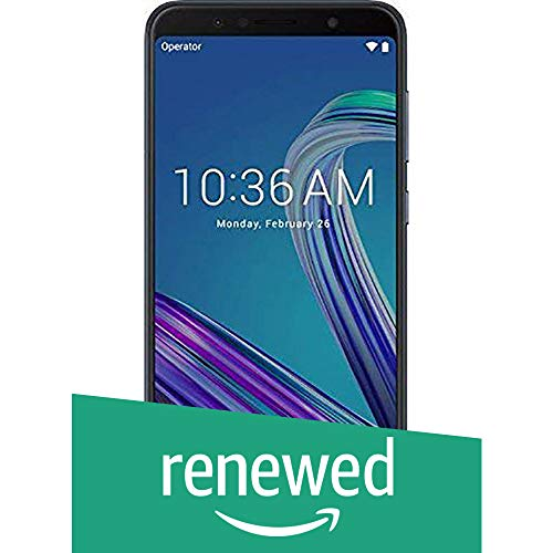 Renewed  Asus Zenfone Max Pro M1  Black, 64  GB   4  GB RAM  | 5000 mAh Battery  Grey