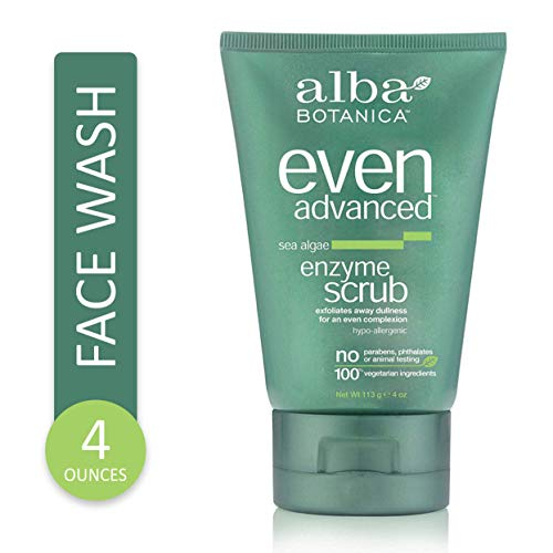 Alba Botanica Even and Bright Enzyme Scrub, 4 oz. (Packaging May Vary)