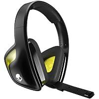Skullcandy SLYR Biauricular Diadema Negro, Amarillo auricular con micrófono - Auriculares con micrófono (Consola de juegos, Biauricular, Diadema, Negro, Amarillo, Xbox 360 Xbox One Playstation 3 Playstation 4 PC, Alámbrico)