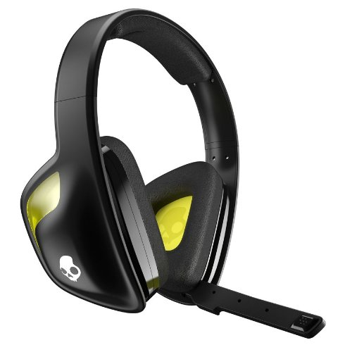 (Skullcandy SLYR Gaming Headset, Black/Yellow (SMSLFY-207))