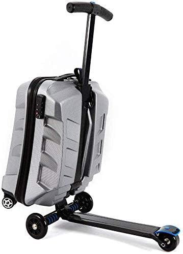 21 Inch TSA Lock Scooter Luggage Aluminum Suitcase