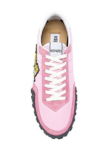 Kenzo Femme F852SN122F5432 Rose Cuir Baskets