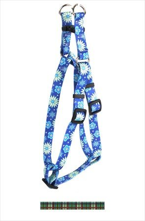 """UPC 844360033663, Tartan Step-In Harness Size: Extra Large (1"""" x 40-55""""), Color: Green"""