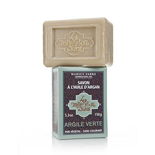 Marius Fabre Green Clay Argan Oil and Shea Butter Soap 150g by Marius Fabre