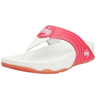 FitFlop Women's Walkstar 3 Sandal,Strawberry,5 M US