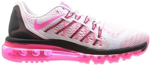 2015 black Pink Nike Max Air Pow Scarpe sportive Donna Wmns White wwRvqt