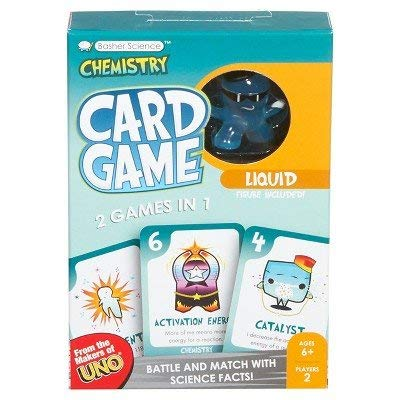 Basher Science Chemistry Card Game (Basher Science Rocks And Minerals)