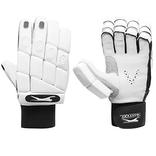 Slazenger Pro Tour Batting Gloves Juniors White Youths Left Handed