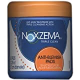 Noxzema Triple Clean Anti-blemish Pads 65 Each Pack(Pack of 4)