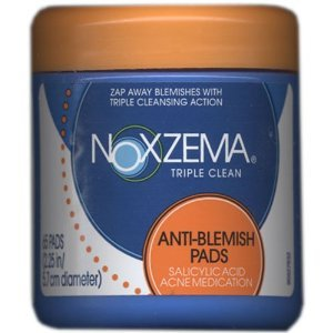 UPC 885198405925, Noxzema Triple Clean Anti-blemish Pads 65 Each Pack(Pack of 4)
