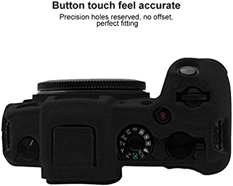 Color : Black GuiPing Soft Silicone Protective Case for Canon EOS RP Durable