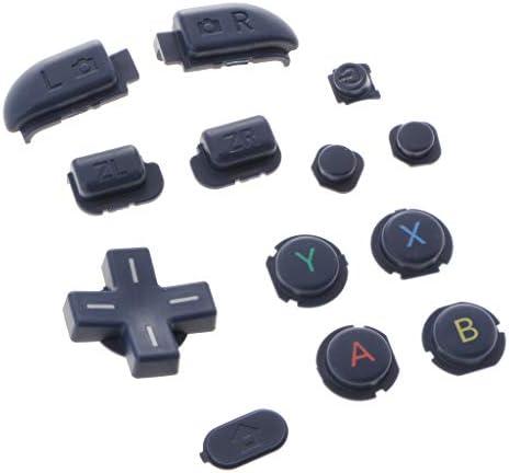 B Baosity 新しい任天堂3DSXL / LLブルー用13 イン 1 L&R ZR ZLボタン修理D-pad ABXY