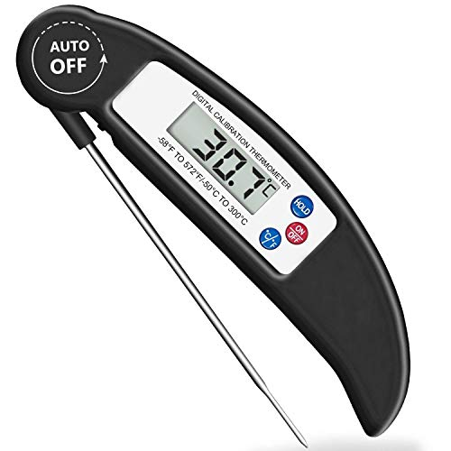 Spk Grill - Bluephoto Digital Meat Thermometer with Magnet, Instant Read Food Thermometer for Kitchen, Outdoor Cooking, BBQ, Grill Smokers