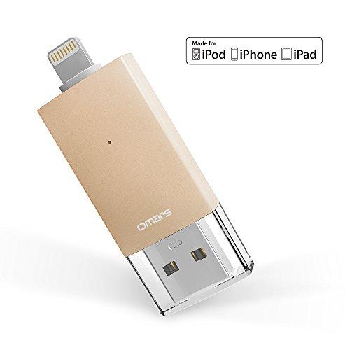 iphone lightning flash drive 64gb omars usb 3 0 external. Black Bedroom Furniture Sets. Home Design Ideas