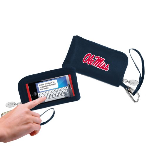 - NCAA Mississippi Ole Miss Rebels Cell Phone Wallet