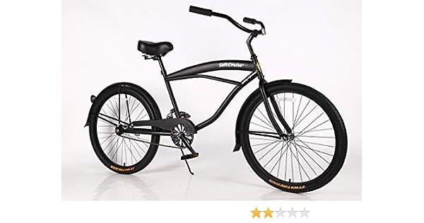 Bicicleta de playa para mujer Cruiser Bike Coral, marco de acero ...