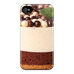 Iphone 4/4s Case Cover Nice Chocolate Cake Case - Eco-friendly Packaging