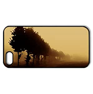 Beautiful Foggy Day Watercolor style Cover iPhone 5 and 5S Case (Autumn Watercolor style Cover iPhone 5 and 5S Case)