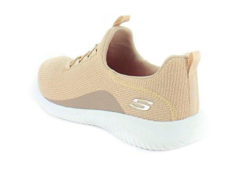 Skechers Sport Damen Ultra Flex Sneaker Taupe