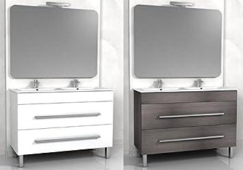 mobili bagno grigio. interesting mobile bagno sospeso vito ... - Mobile Bagno Senza Lavandino