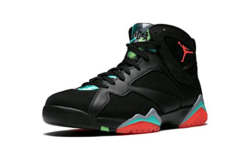 Jordan Air 7 Retro 30TH Anniversary Men's Shoes Black/Infrared-Blue Graphite 705350-007 (11.5 D(M) ()