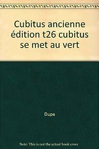 """Afficher """"Cubitus se met au vert"""""""