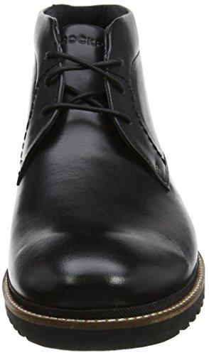 para Leather Rockport Botas Chukka Marshall Black Hombre Negro qZA6B8w