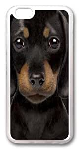 For SamSung Galaxy S4 Mini Case Cover -Dachshund Puppy Hard shell pc Soft Case Back For SamSung Galaxy S4 Mini Case Cover Transparent