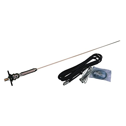 Jensen HS519L AM FM RV Antenna With Adjustable Ball Base for Top or Side ()