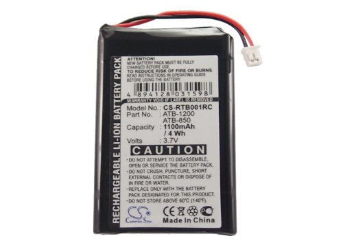 Cameron sino 1100mAh 3.7V Li-ion ATB-1200 Battery For RTI T2B T2Cs T2C T3 Remote Control by Cameron Sino