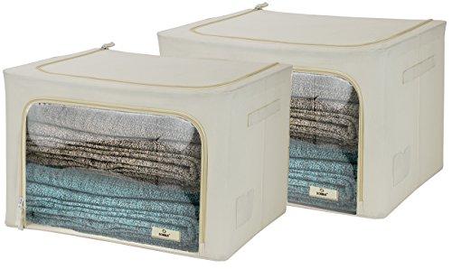 Sorbus Stackable Container Organizer Comforters