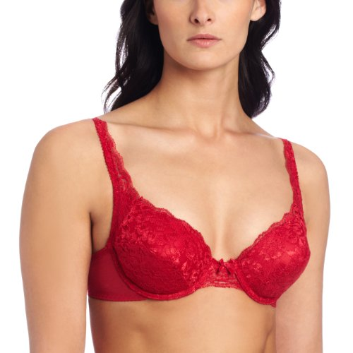 e1ad429e34 Vassarette Women s Lace Padded Push Up Bra 75320