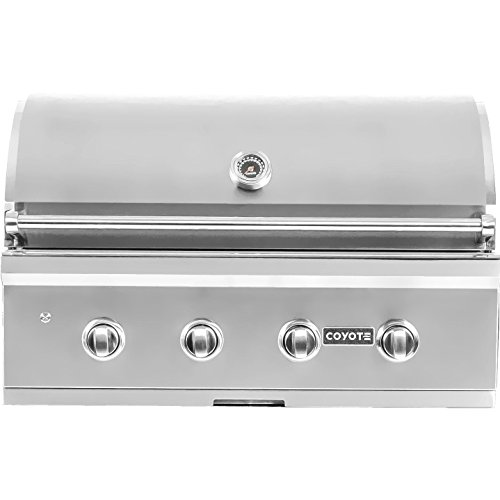 Coyote C-series 36-inch 4-burner Built-in Natural Gas Grill – C2c36ng