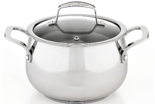 1 X Belgique Stainless Steel Soup Pot