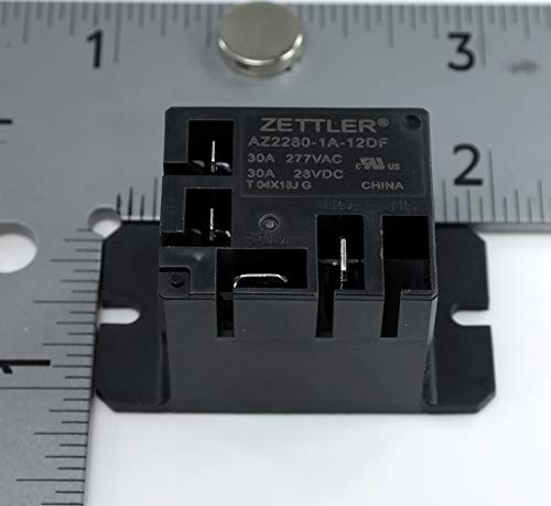 American Zettler AZ2280-1A-12DF 12VDC 155 Ohm 30A SPST-NO Power Relay