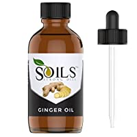 Strong Oils 100% Pure Ginger Essential Oil 4 Oz (118 Ml) Therapeutic Grade