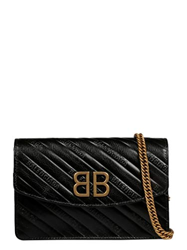 Balenciaga Women's 561507Aq4241000 Black Leather Shoulder Bag