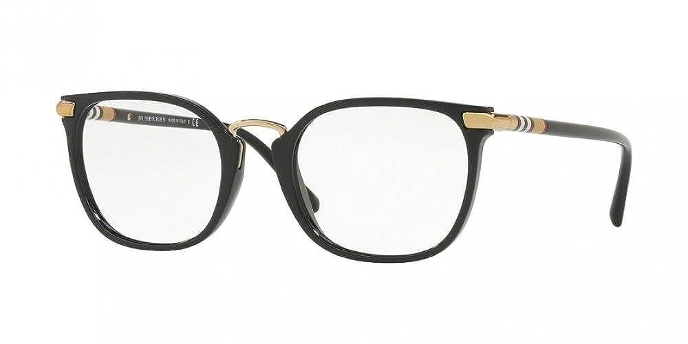 Burberry frame (BE-2269 3001) Acetate - Metal Shiny Black - Gold